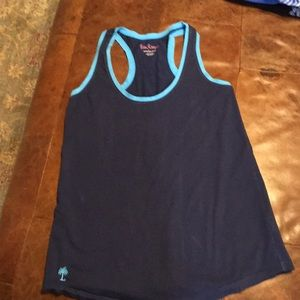 Lilly Pulitzer blue racerback tank